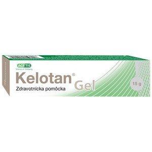 Kelotan Gel silikónový gél na jazvy 15g