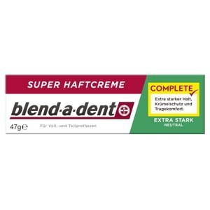 blend-a-dent EXTRA STARK NEUTRAL complete super fixačný dentálny krém 47 g