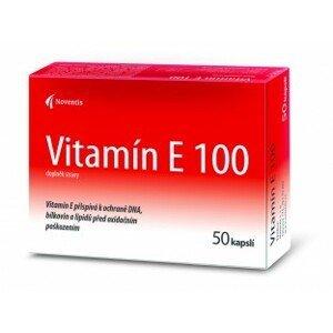 Noventis Vitamín E 100 cps 2x25 ks