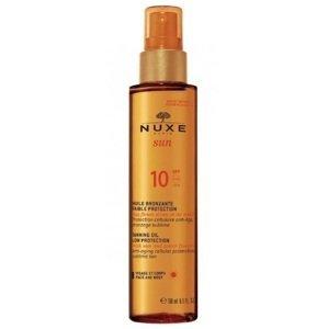 Nuxe Bronzujúci olej s vysokou ochranou - SPF 10 150ml