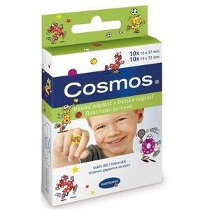 COSMOS Detská náplasť na rany 2 veľkosti(1,6cmx5,7cm) 20 ks