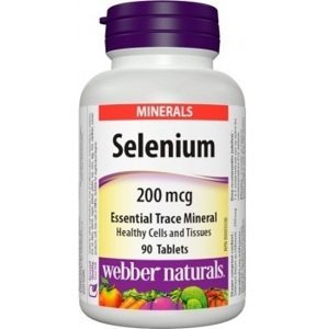 Webber Naturals Selenium 200mcg 90 tbl