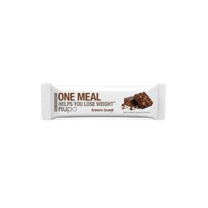 One Meal tyčinka Nupo - Chrumkavé Brownie 60g