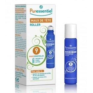 Puressentiel Headache Roll - On 9 essential oils