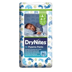 HUGGIES Dry Nites medium pre chlapcov plienkové nohavičky 17-30kg,10ks