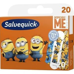 Salvequick Minions Náplasť pre deti, 20 ks