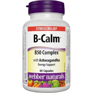 Webber Naturals B-Calm Anti-stresová formula 60cps