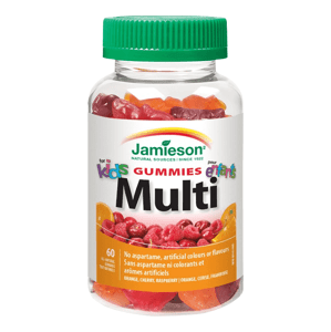 Jamieson Multi Kids Gummies želatínové pastilky 60 pastiliek