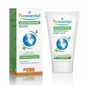 Puressentiel Respiratory Balm with 19 essential oils - 50 ml Balzám pro lepší dýchání 19 esenciálníc