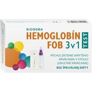 HEMOGLOBÍN TEST 3v1 na okultné krvácanie 3 ks