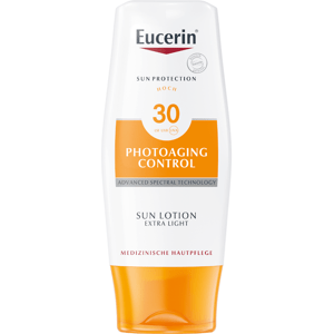 Eucerin SUN PHOTOAGING CONTROL SPF30 extra ľahké mlieko na opaľovanie 150ml