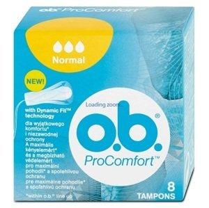 O.B. ProComfort Normal hygienické tampóny 8 ks