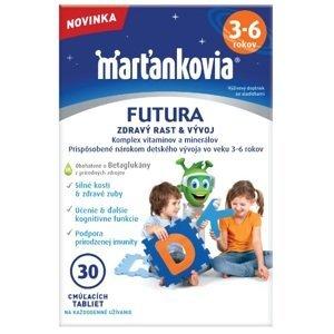 Walmark Marťankovia Futura 3-6 cmúľacie tablety 30ks