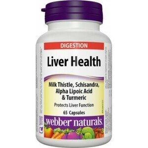 Webber Naturals Zdravie Pečene Komplex + Silibum Mariánske 65tbl