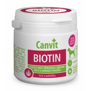 Canvit Biotin pre psov 230 tabliet