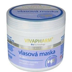 VIVAPHARM Kozia maska na vlasy 600 g