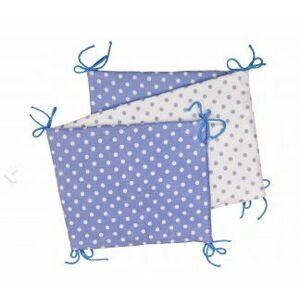 Skladaný mantinel, BLUE / LITTLE DOTS 35 x 150
