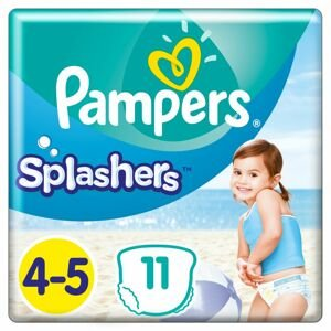Pampers Splashers 4-5 11ks, 9-15kg