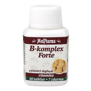 MedPharma B-komplex Forte 30+7tbl zadarmo