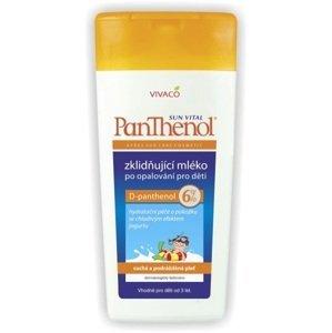 Detské upokojujúce mlieko po opaľovaní s 6% Panthenolom 200ml