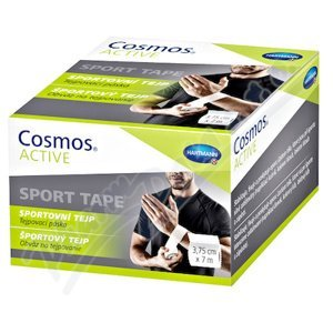 Cosmos ACTIVE Športový tejp biely 1x1 ks