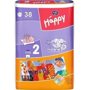 Bella Baby Happy Mini 3-6kg detské plienkové nohavičky 38ks