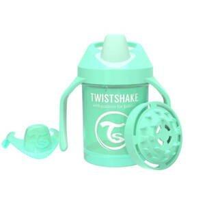 Twistshake Dojčenskčiaci 230ml 4+m Pastelovo zelená