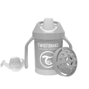 Twistshake Dojčenskčiaci 230ml 4+m Pastelovo šedá