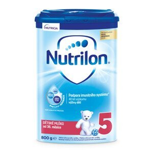 Nutrilon 5 detská mliečna výživa v prášku 1x800g