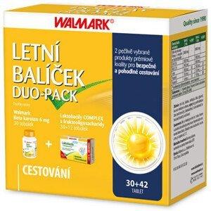 WALMARK Letný balíček Beta karotén 6mg 30 toboliek + Laktobacily 30+12 toboliek