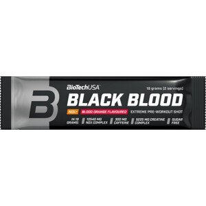 BiotechUSA Black Blood (NOX) 19 g červený pomaranč
