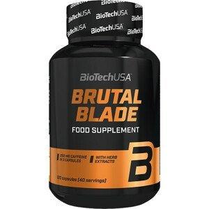 BiotechUSA BRUTAL BLADE (spaľovač tuku) 120 kapsúl
