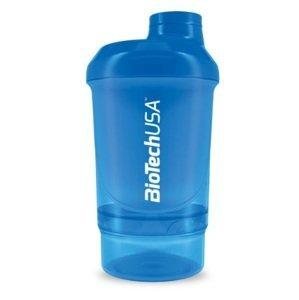 BiotechUSA ŠEJKER NANO 300+150 ml (modrý)