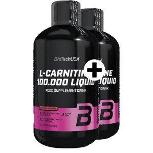 BiotechUSA L Carnitine Liquid 100000mg L Carnitine Liquid mg (A) 500 ml +500 ml čerešňa