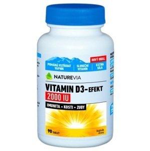 Swiss Naturevia Vitamin D3-EFEKT 2000 I.U. 90 tabliet