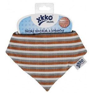 XKKO - Slintáček Organic Staré časy Brown Stripes