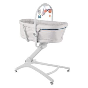 Chicco Postieľka/lehátko/stolička Chicco Baby Hug 4v1 - Glacial