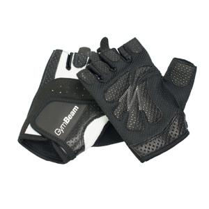 Fitness Dámske rukavice Bella - GymBeam unflavored - white - black - M