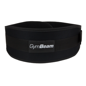 Fitness opasok Frank - GymBeam unflavored - black - L