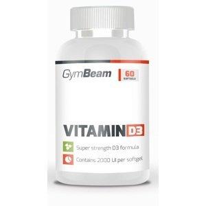 GymBeam Vitamin D3 2000 IU 60 kaps unflavored