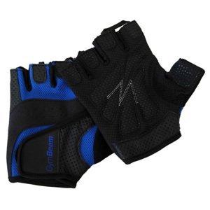 GymBeam Fitness rukavice Dexter black-blue XXL