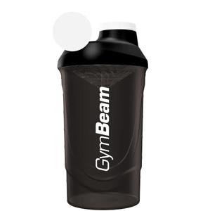 Šejker čierny 600 ml - GymBeam-600 ml unflavored - black