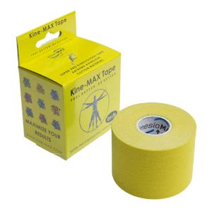 Kine-MAX Super-Pro Cotton Kinesiology Tape žltá tejpovacia páska 5cm x 5m
