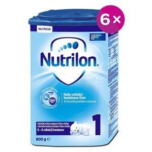 Nutrilon 1 počiatočná mliečna dojčenská výživa v prášku 6x800g