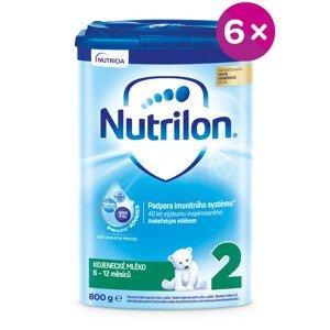 Nutrilon 2 následná mliečna dojčenská výživa v prášku 6x800g