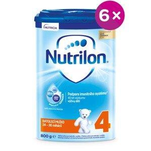 Nutrilon 4 batoľacia mliečna výživa v prášku 800g 5+1 zdarma