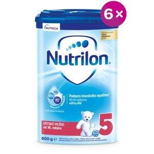 Nutrilon 5 detská mliečna výživa v prášku 6x800g