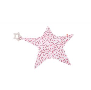 Kikadu Maznáčik hviezda s hryzátkom ružová