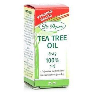 DR. POPOV TEA TREE OIL čistý 100% olej z čajovníka austrálskeho 25 ml