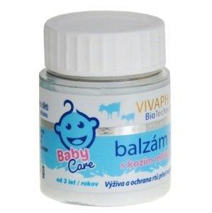 Vivapharm Balzam na pery s kozím mliekom Kids 25g